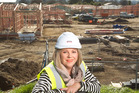 Whare Aroha CARE chief executive Therese Jeffs at the site of the new village in Ngongotaha. Photo / Stephen Parker