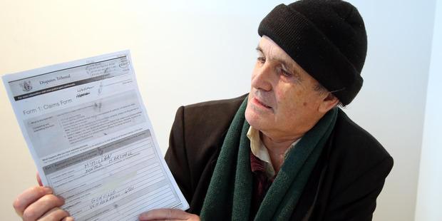 Marton home owner Don McMillan is taking Rangitikei District Council to the Disputes Tribunal over berm mowing. Photo/ Stuart Munro
