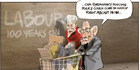 View: Cartoon: Labour Party turns 100