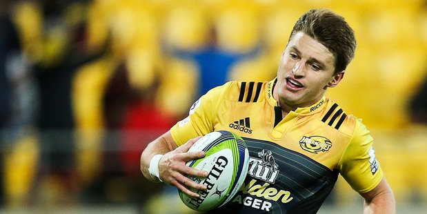 Beauden Barrett is a gifted five-eighths. Photo / Getty Images