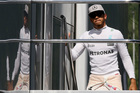 Mercedes driver Lewis Hamilton after the second practice session prior to the Austrian grand prix. Photo / AP