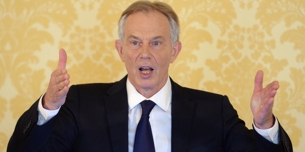 Tony Blair said he takes full responsibility for the decision and that the British are not to blame for the problems that developed after the U.S.-led invasion of Iraq in 2003. Photo / AP