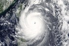 Image provided by NASA shows Typhoon Nepartak as it approaches Taiwan and the Philippines. Photo / Supplied