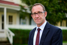 Andrew Little announced the first of three announcements he's making on the housing in the coming days. Photo / George Novak