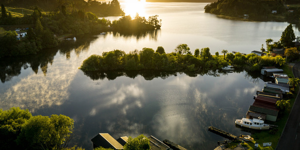 The annual drawdown of Lake Rotoiti will take place this Sunday.  Photo/File