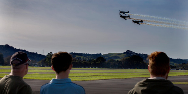 New Zealand Warbirds D-Day Open day at Ardmore Airport earlier this year. Photo / Nick Reed