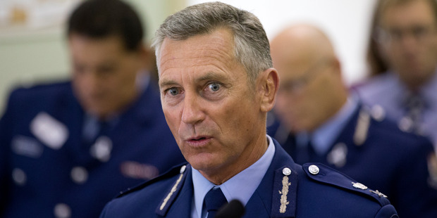 Police Commissioner Mike Bush has been reappointed for another three years. Photo / Mark Mitchell