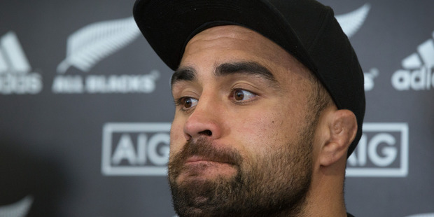 Loading All Blacks loose forward Liam Messam has missed out on the New Zealand sevens side. Photo / Brett Phibbs.