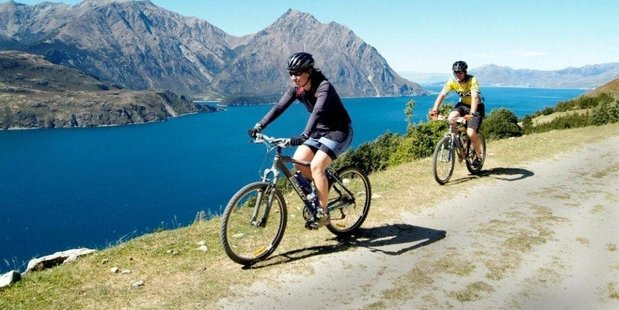 There are 12 wonderful walking tracks near Hawea and almost all can be used by mountain bikes. Photo / Natalie Slade