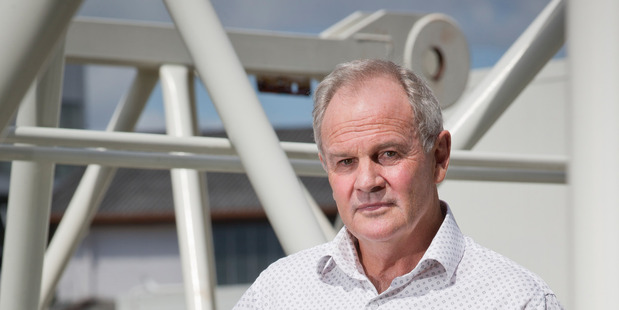 Graham Darlow, head of Fletcher Construction, which wants staff from the UK. Photo/Greg Bowker