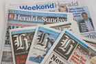 The commission has said it will look at whether there are separate digital and print media markets, and whether there's much overlap in online advertising. Photo / NZ Herald