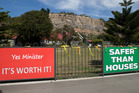 Redcliffs School in Christchurch, closed after the earthquake five years ago. Photo / Mark Mitchell