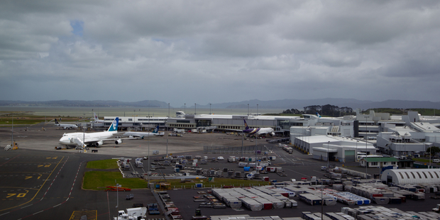 Auckland Airport, the nation's busiest gateway, rose 1.4 per cent to $6.745.  Photo / Richard Robinson