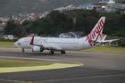 A Virgin Australia Boeing 737-800 at Wellington International Airport. Photo /  Mark Mitchell