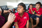 Kids get checked for strep throat which can lead to rheumatic fever at the Western Heights Health Centre.  Photo/File