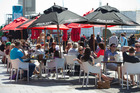 Areas like Auckland's Wynyard Quarter will benefit as delegates make the most of their visit to NZ. Photo / Brett Phibbs