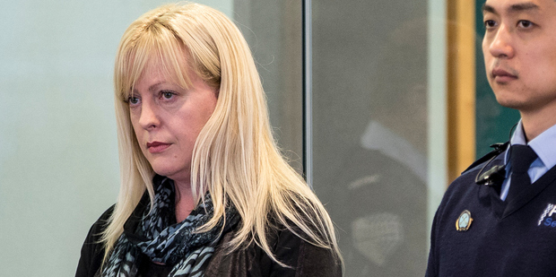 Jane Rose appears for sentencing at the Auckland High Court in May. Photo / Michael Craig.