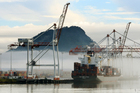 David Pilkington said there had been no discussions with Port of Tauranga on the potential for a