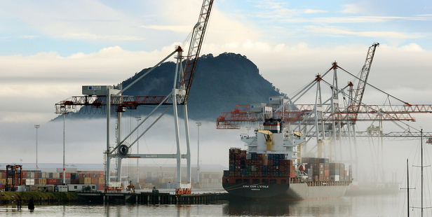 """David Pilkington said there had been no discussions with Port of Tauranga on the potential for a """"super-port"""". Photo / APN"""