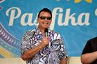 Te Akau ki Papamoa Primary School principal Bruce Jepsen at last year's Pasifika festival.
