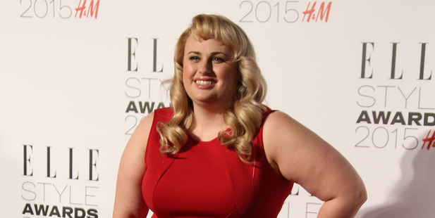 Rebel Wilson says she deliberately gained weight to get noticed in Hollywood. Photo / AP