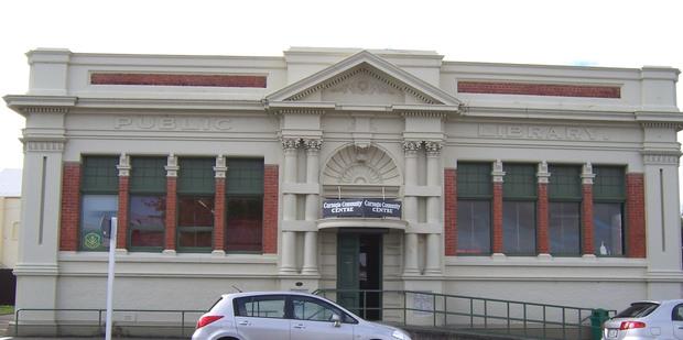 Dannevirke's historic Carnegie Centre on Allardice St.