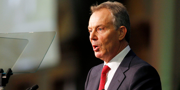 Former British Prime Minister Tony Blair. Photo / NZPA