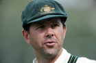 Former Australian captain Ricky Ponting believes bat sizes should be restricted. Photo / NZPA