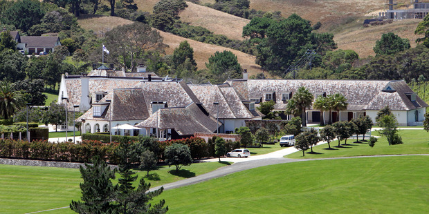 A view at the Dotcom Mansion. Photo / Getty Images