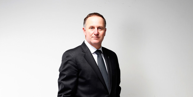Prime Minister John Key points out that it is a problem of economic success. Photo / Phil Walter