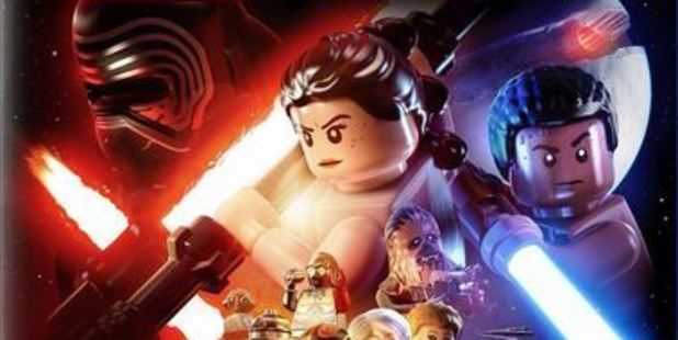Cover art for Lego Star Wars: The Force Awakens. Photo / Supplied