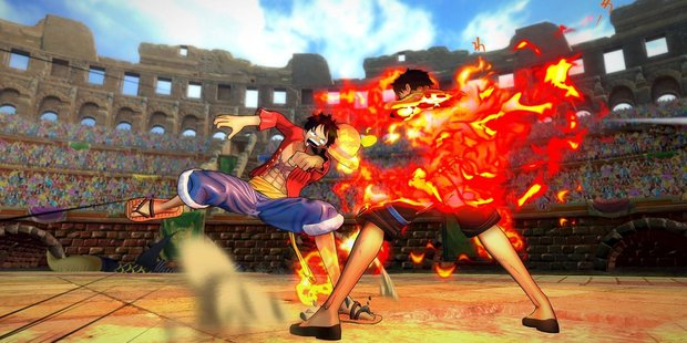 Screenshot of One Piece Burning Blood game play. Photo / Supplied
