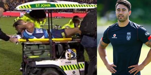 Shaun Johnson has shown his compassion for fellow NRL star Karl Lawton. Photo / Getty