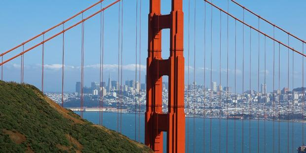The Golden Gate National Recreation Area hosts more than 20 million visitors a year. Photo / San Francisco Travel Association