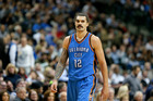 Steven Adams could be about to become one of our highest ever paid sportsman. Photo / AP