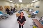 Tauranga Blood Donor Centre clinical nurse leader Annemarie Pidwell. Photo/George Novak.