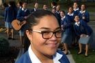 Pumanawa Rawiri from St Joseph's Maori Girls' College was named Junior Maori speech winner at the Ng Manu K rero Regional Speech Competition.