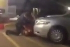 Baton Rouge Police shoot and kill a black man in Louisiana.