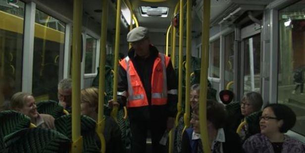 Loading Wellington's friendliest bus driver Casey Meyer. Photo / YouTube