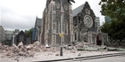 Watch NZH Focus: Drone footage from inside Christchurch Cathedral