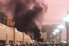 The suicide attack in Medina was near the seventh century Mosque of the Prophet Muhammad. Photo / AP