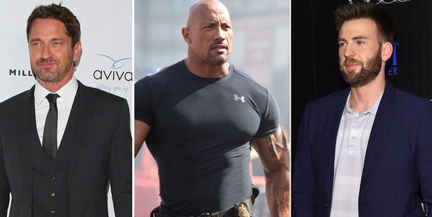 Gerard Butler, Dwayne Johnson and Chris Evans are all set to star in some ridiculous-sounding movies.