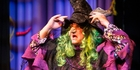 Actor Tim Raby plays the infamous, screeching Badjelly the Witch. Photo / Jason Oxenham