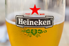You'll soon be able to enjoy a crisp glass of Heineken on KLM flights. Photo / iStock