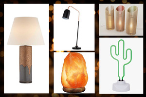 Light your home with these unique lamps.