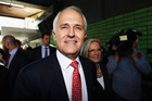 Malcolm Turnbull was confident he would still be able to form a Coalition government as the results of the federal election hung in the balance of seven undeclared seats. Photo / Getty Images