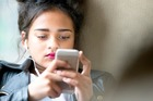 Teenagers can be particularly susceptible to social media addiction. Photo / iStock