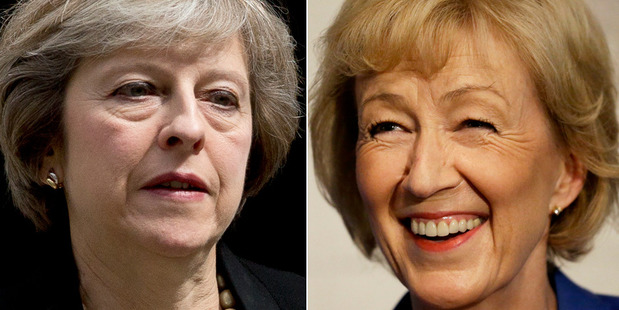Theresa May or Andrea Leadsom to be next United Kingdom prime minister