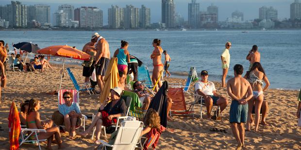 Punta del Este beach in Uruguay. Photo / iStock