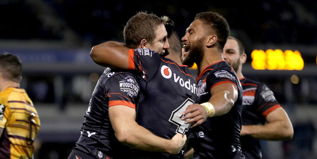 The Warriors need a strong finish to make the NRL playoffs. Photo /Getty